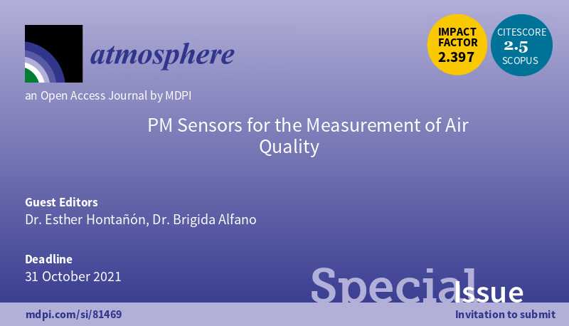 Special Issue on PM Sensors for the Measurement of Air Quality